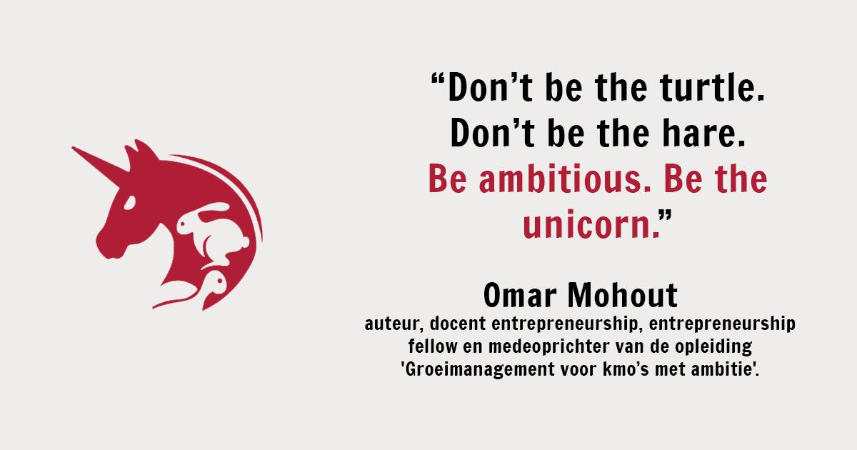 Be the unicorn