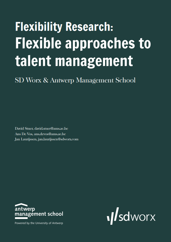 Flexibility Research: 'Flexible approaches to talent management' (part 1/3)