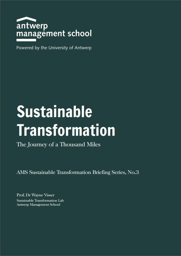 Sustainable Transformation – The Journey of a Thousand Miles